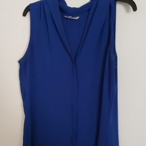 Like new blue dress shirt